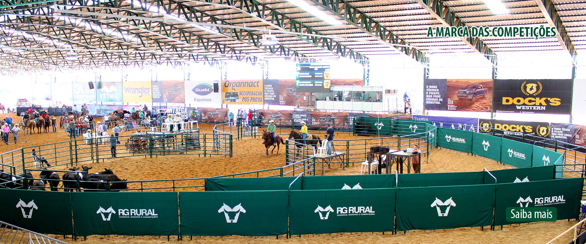 Banner a marca das competições